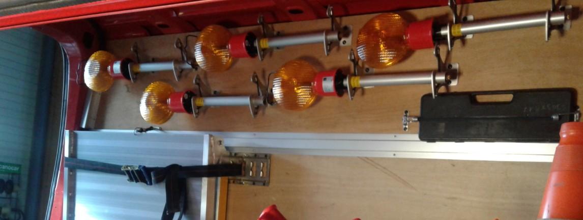 aménagement véhicule de pompiers