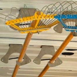 Porte-outils pour aménagement fourgons et ateliers
