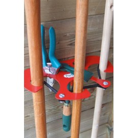 Garden Tools Storage - Steel - holding up to 12 tools
