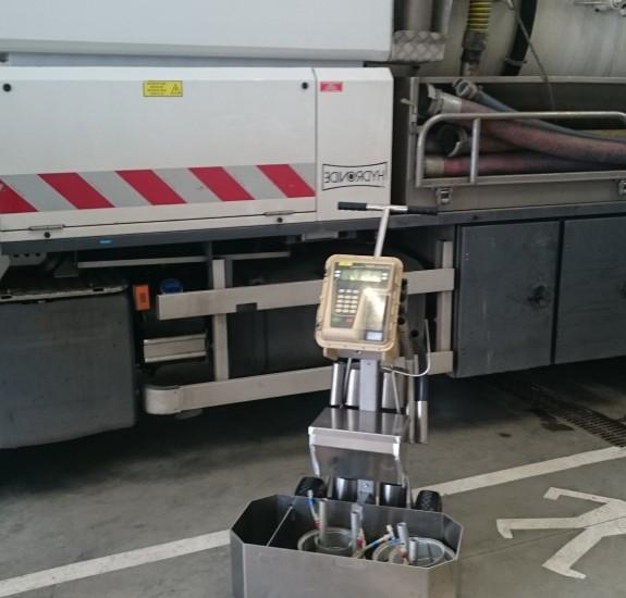 Chariot opérateur services d'eau