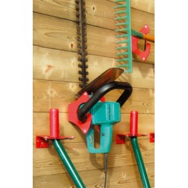 Garden Tool holder - Steel - Up to 2 tools