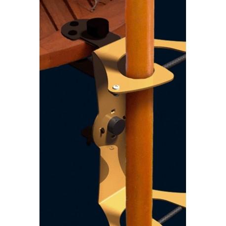 porte parasol mobile fixation universelle de parasol sur table balcons. Black Bedroom Furniture Sets. Home Design Ideas